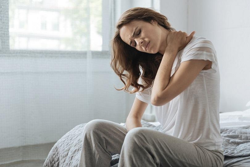 減輕因不正確姿態造成的頭頸焦慮不安