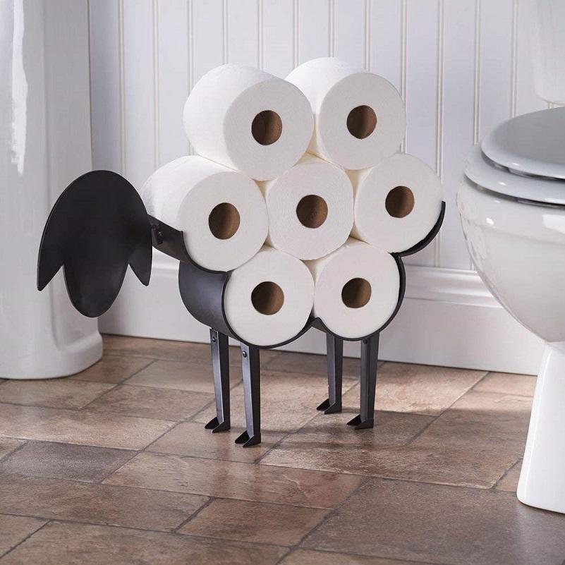 不值一提的廁紙架竟超級變身工藝品